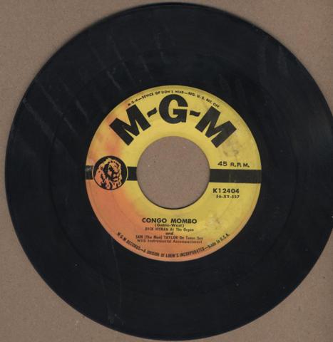 "Dick Hyman And Sam ""The Man"" Taylor Vinyl 7"" (Used)"