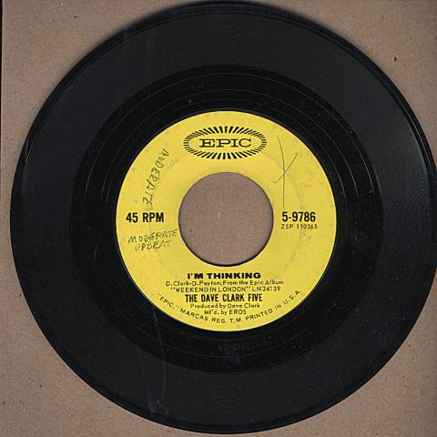 "The Dave Clark Five Vinyl 7"" (Used)"