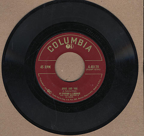 "Jo Stafford & Liberace Vinyl 7"" (Used)"
