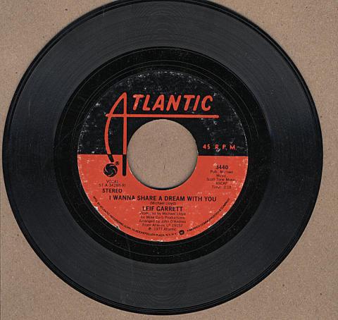 """Leif Garrett Vinyl 7"""" (Used)"""