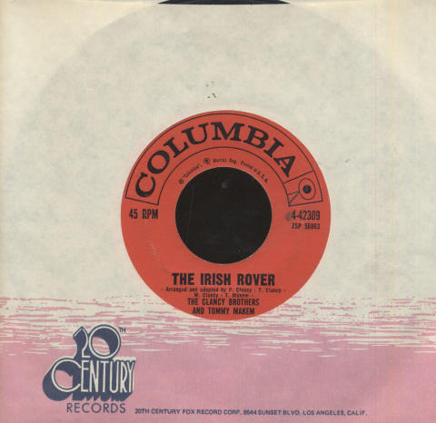 """The Clancy Brothers and Tommy Makem Vinyl 7"""" (Used)"""
