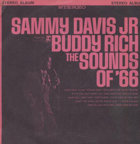"""Sammy Davis Jr. & Buddy Rich Vinyl 7"""" (Used)"""
