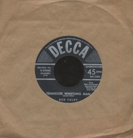 """Red Foley and Betty Foley Vinyl 7"""" (Used)"""