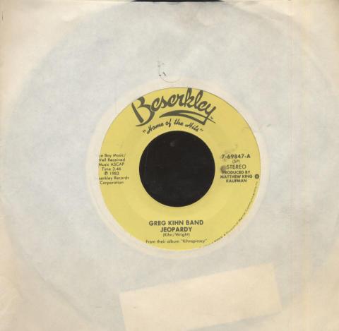 "Greg Kihn Band Vinyl 7"" (Used)"