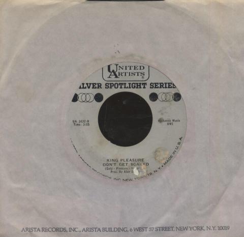 """King Pleasure Vinyl 7"""" (Used)"""