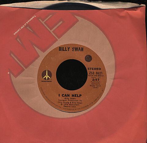 """Billy Swan Vinyl 7"""" (Used)"""