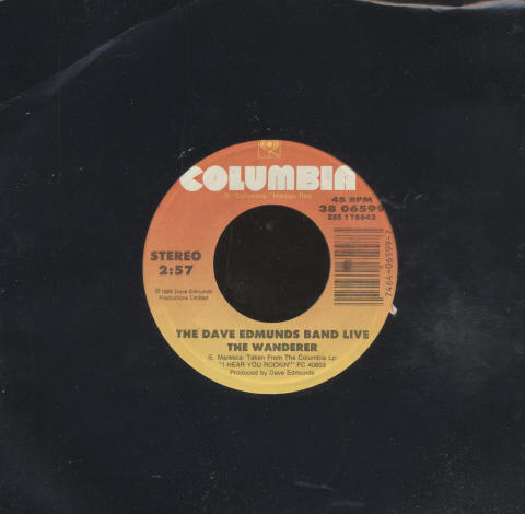 """The Dave Edmunds Band Vinyl 7"""" (Used)"""
