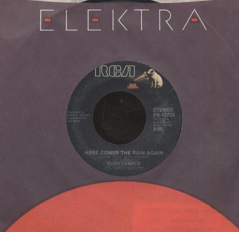 """Eurythmics Vinyl 7"""" (Used)"""