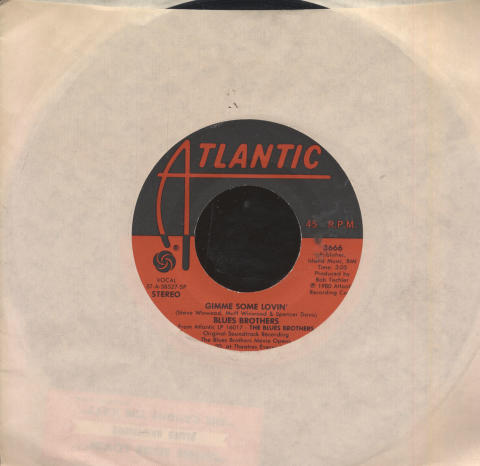 """The Blues Brothers Vinyl 7"""" (Used)"""