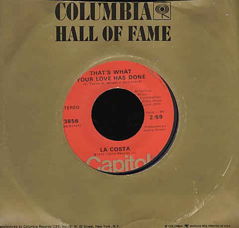 "La Costa Vinyl 7"" (Used)"