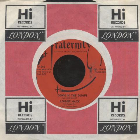 "Lonnie Mack Vinyl 7"" (Used)"