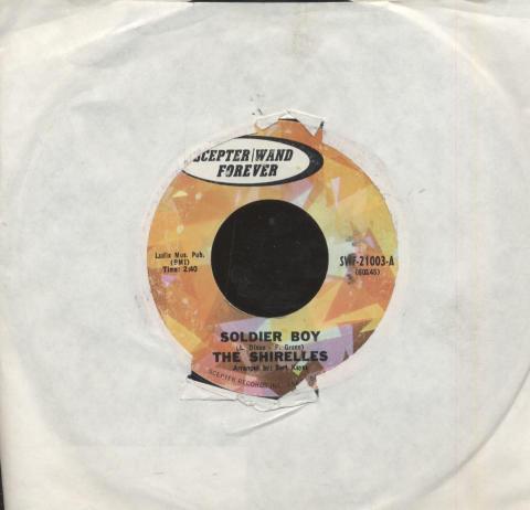 "The Shirelles Vinyl 7"" (Used)"