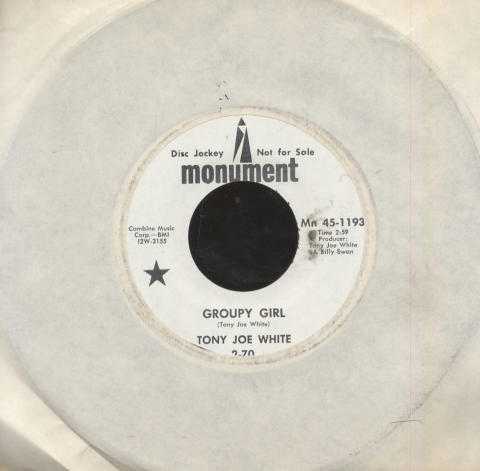 """Tony Joe White Vinyl 7"""" (Used)"""