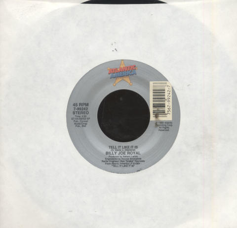 "Billy Joe Royal Vinyl 7"" (Used)"