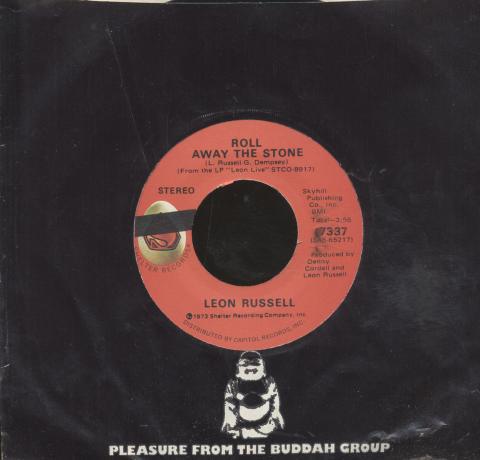 """Leon Russell Vinyl 7"""" (Used)"""