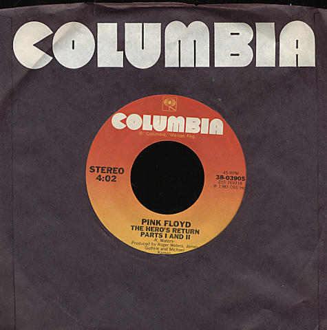 """Pink Floyd Vinyl 7"""" (Used)"""