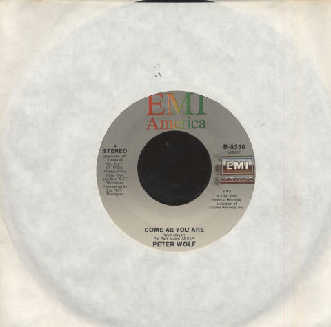 "Peter Wolf Vinyl 7"" (Used)"
