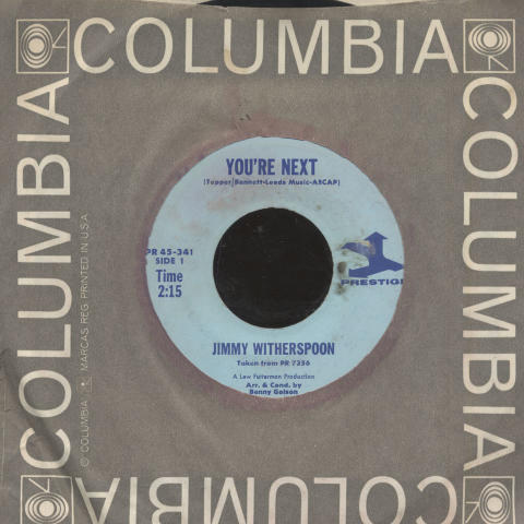 """Jimmy Witherspoon Vinyl 7"""" (Used)"""