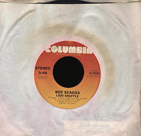 "Boz Scaggs Vinyl 7"" (Used)"