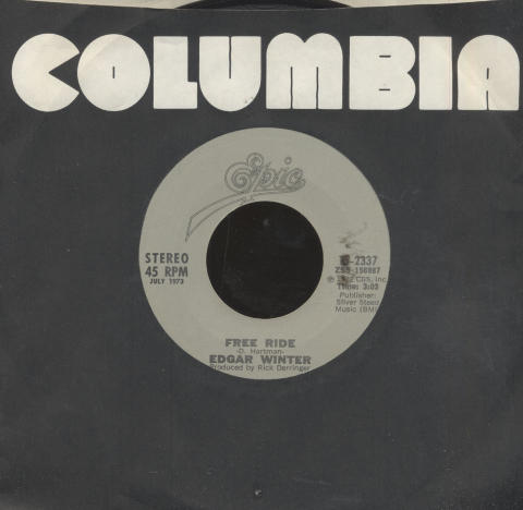 "Edgar Winter Vinyl 7"" (Used)"