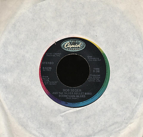 """Bob Seger and The Silver Bullet Band Vinyl 7"""" (Used)"""