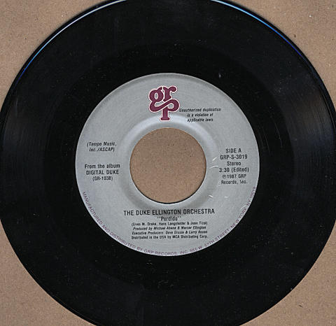 "The Duke Ellington Orchestra Vinyl 7"" (Used)"