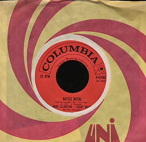 """Duke Ellington / Count Basie and their Orchestras Vinyl 7"""" (Used)"""