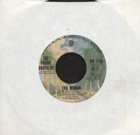 """The Doobie Brothers Vinyl 7"""" (Used)"""
