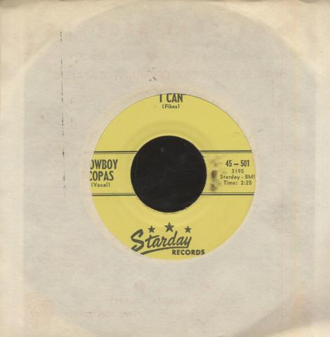 """Cowboy Copas Vinyl 7"""" (Used)"""