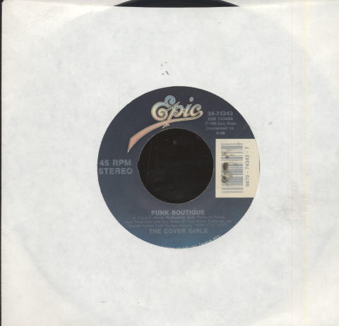 "The Cover Girls Vinyl 7"" (Used)"