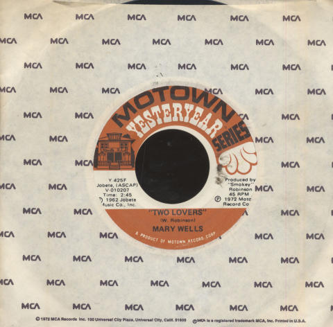 "Mary Wells Vinyl 7"" (Used)"