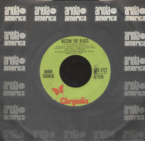 """Robin Trower Vinyl 7"""" (Used)"""