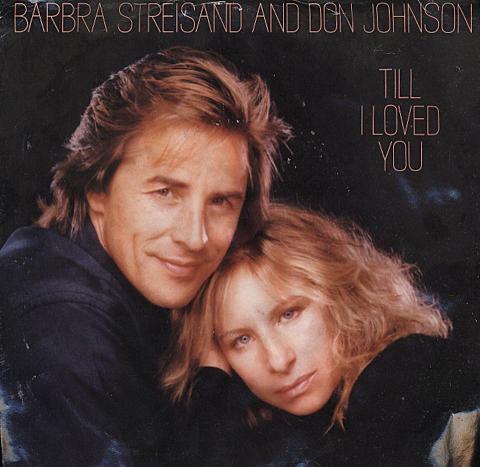 """Barbra Streisand / Don Johnson Vinyl 7"""" (Used)"""