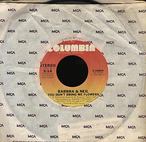 "Barbra & Neil Vinyl 7"" (Used)"