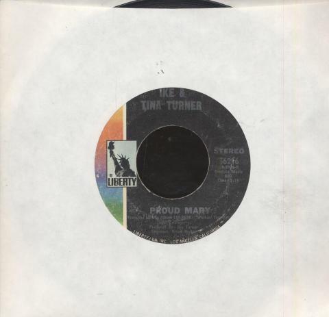 """Ike and Tina Turner Vinyl 7"""" (Used)"""