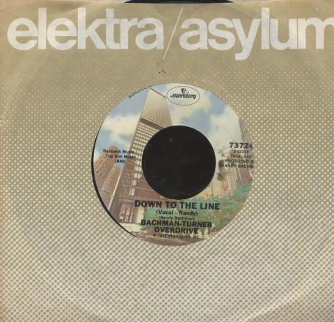 "Bachman-Turner Overdrive Vinyl 7"" (Used)"