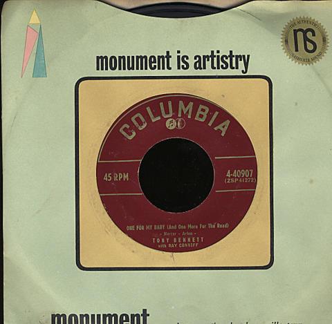 """Tony Bennett / Ray Conniff / Percy Faith Vinyl 7"""" (Used)"""