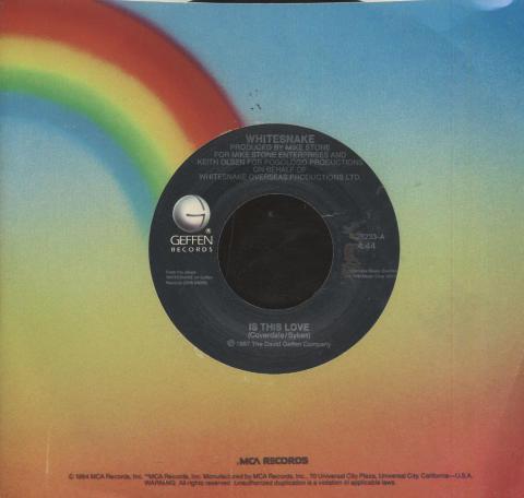"""Whitesnake Vinyl 7"""" (Used)"""