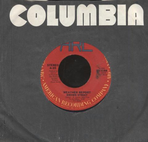 """Weather Report Vinyl 7"""" (Used)"""