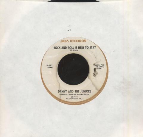 """Danny & the Juniors Vinyl 7"""" (Used)"""