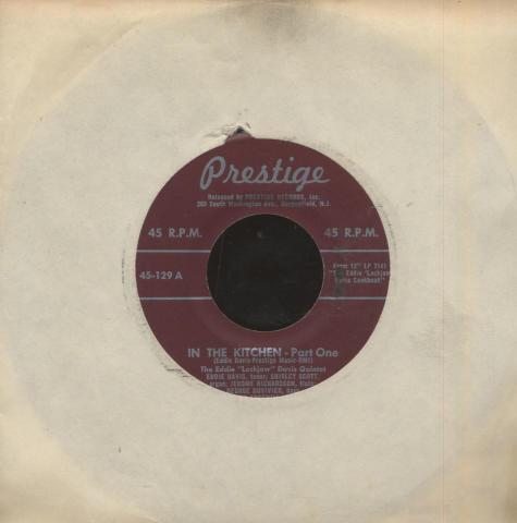 """Eddie Davis Vinyl 7"""" (Used)"""