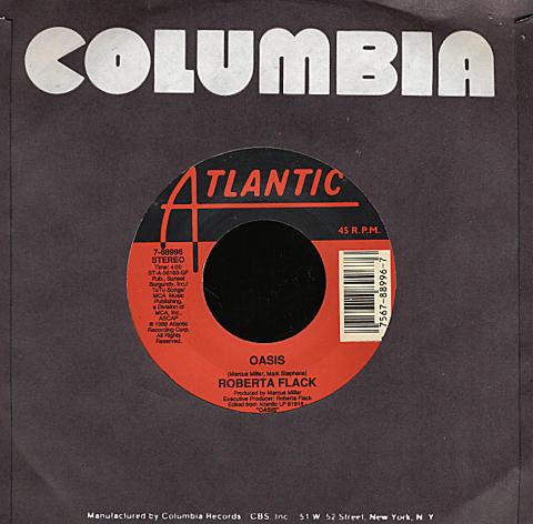 """Roberta Flack Vinyl 7"""" (Used)"""