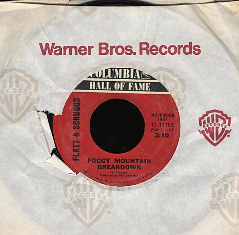 """Flatt and Scruggs Vinyl 7"""" (Used)"""