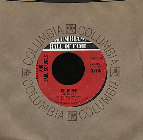 "Lester Flatt And Earl Scruggs Vinyl 7"" (Used)"