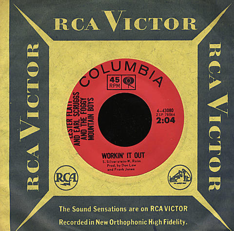 "Lester Flatt and Earl Scruggs and The Foggy Mountain Boys Vinyl 7"" (Used)"