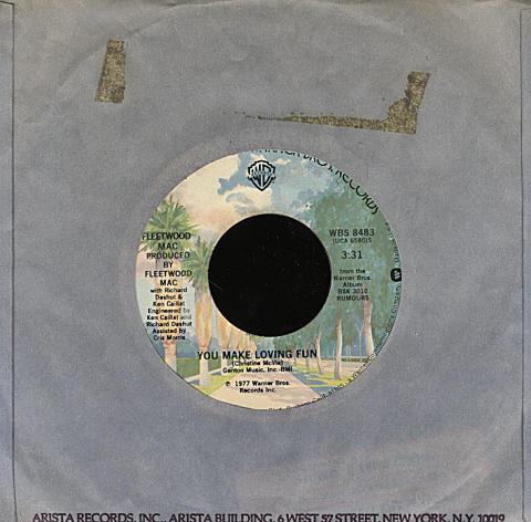 "Fleetwood Mac Vinyl 7"" (Used)"