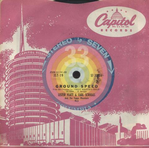 """Lester Flatt & Earl Scruggs and The Foggy Mountain Boys Vinyl 7"""" (Used)"""