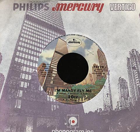 "10cc Vinyl 7"" (Used)"