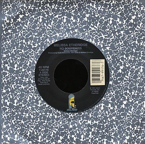 """Melissa Etheridge Vinyl 7"""" (Used)"""