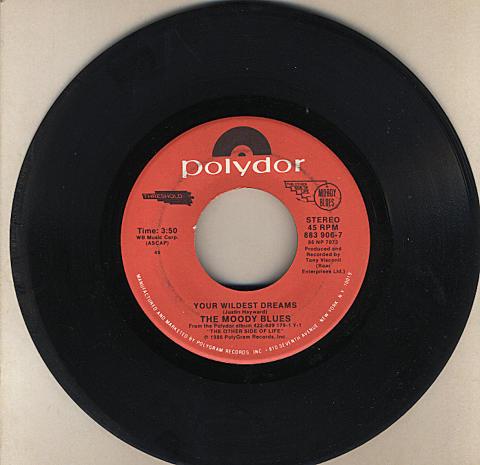 "The Moody Blues Vinyl 7"" (Used)"